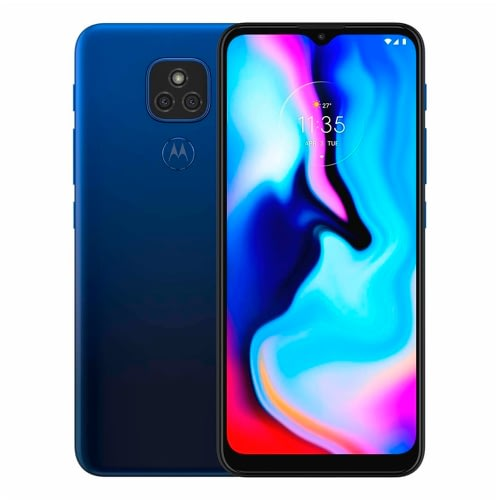 Celular Motorola E7 Plus 64GB/4GB Azul